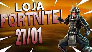 LOJA FORTNITE - LOJA DE HOJE 27/01/2019!