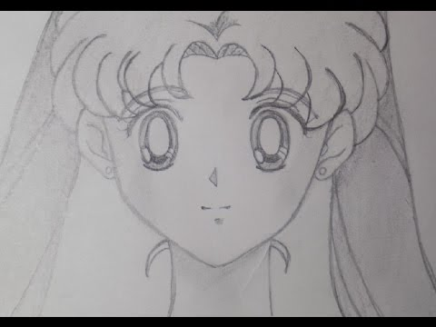 Cómo dibujar a Usagi Tsukino o Sailor Moon? ✎ How to draw Sailor Moon? *♥* Mysteria *♥*