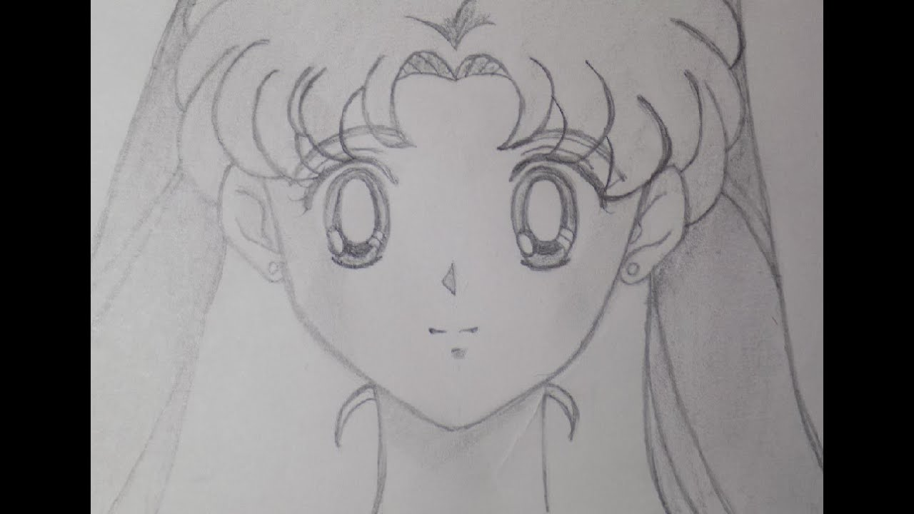 Cómo Dibujar A Usagi Tsukino O Sailor Moon How To Draw Sailor Moon Mysteria