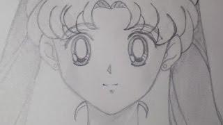 Cómo dibujar a Usagi Tsukino o Sailor Moon? ✎ How to draw Sailor Moon? *♥* Mysteria *♥*