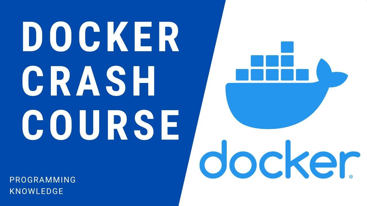 Docker Tutorial   Crash Course