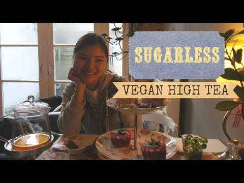 Vegan High Tea in Amsterdam | Sugarless