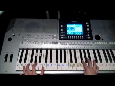 STUMBLIN'IN Chris Norman & Suzi Quatro(Tá pusa je tvá...CZ)Cover,(Klávesy)(Piano)Ako na to bez not
