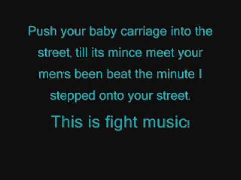 Fight MusicD12 Lyrics