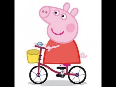 Peppa Pig Learns To Ride A Bike Https Vk Com