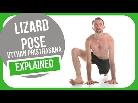 How to do lizard pose (Utthan Pristhasana)