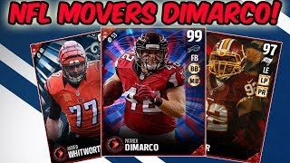 99 NFL MOVERS PATRICK DIMARCO! 99 OVERALL FULLBACK HERO WTF EA! | MADDEN 17 ULTIMATE TEAM