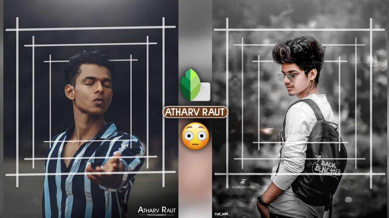 New Snapseed Photo Editing | New Atharv Raut Inspired Photo Editing - AF EDIT