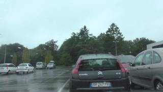 Driving Around Rostrenen 22110, Côtes d'Armor, Brittany, France 25th August 2014