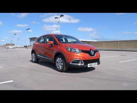 2013 Renault Captur 0.9 ENERGY TCe 90 S&S Expression+ Start-Up and Full Vehicle Tour