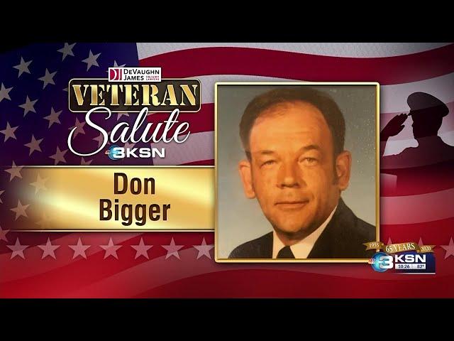 Veteran Salute: Don Bigger