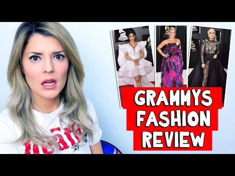 GRAMMYS FASHION REVIEW // Grace Helbig