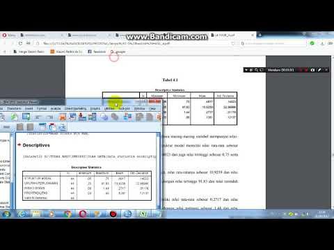 cara uji validitas dengan spss dan uji reliabilitas spss , cara baca ouput spss uji validitas.