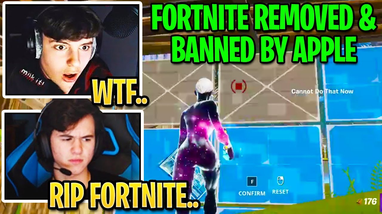 Pros React to Fortnite *REMOVED* & *BANNED* by Apple From ALL Mobile Devices! #FreeFortnite