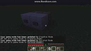 Cara Membuat Tombol Otomatis Mode Creative Dan Survival | Minecraft Indonesia #1