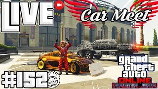 🛑💥LIVE DE GTAONLINE PS4 | NOVO DLC ARENA WAR🔧 E MAD MAX CAR MEET|#153 #GTAONLINE