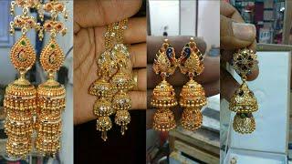 Rajputi Jhumar Design| Jhumka Design |Jhumkiya Design | Gold Jhumki Design | Earrings Design