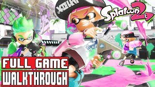 SPLATOON 2 Gameplay Walkthrough Part 1 FULL GAME (Nintendo Switch) - No Commentary