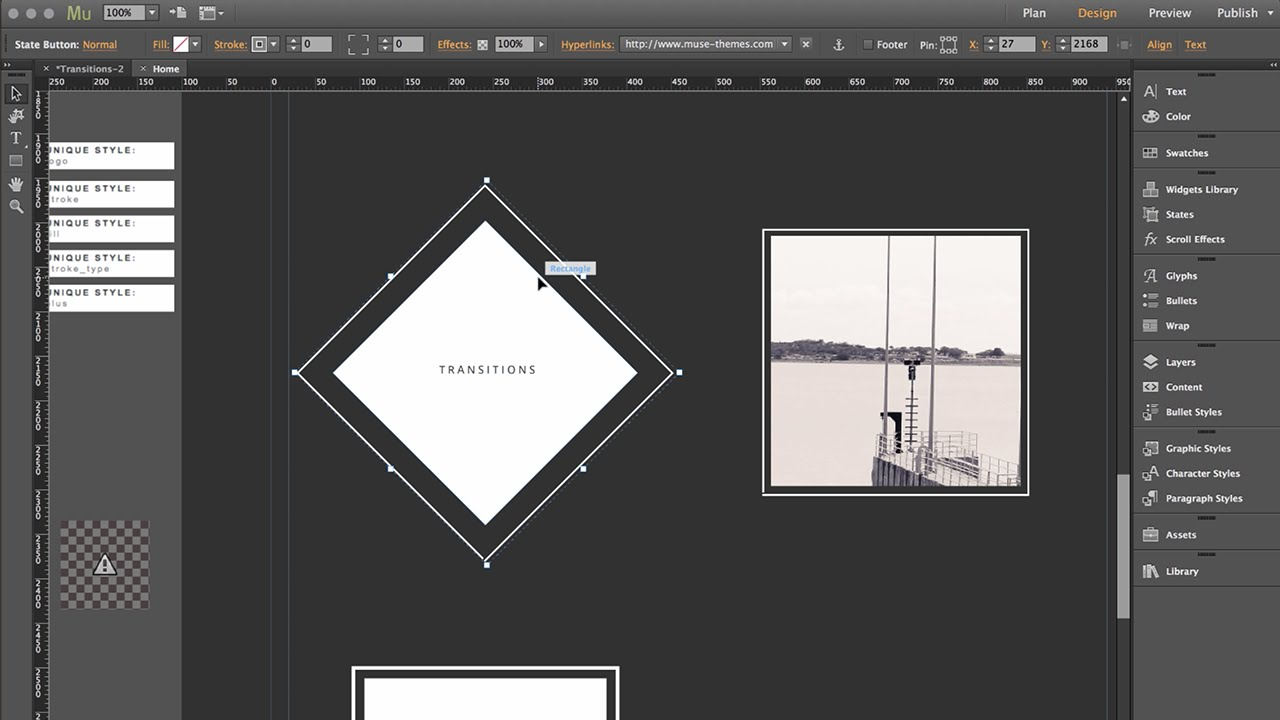 Advanced State Transitions - Button Tips & Tricks | MuseThemes com
