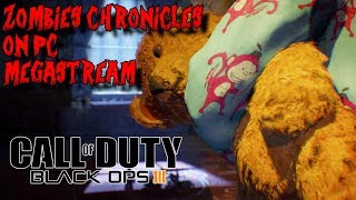 ZOMBIES CHRONICLES ON PC MARATHON WITH AMAZING MODS! (BLACK OPS 3 ZOMBIES)