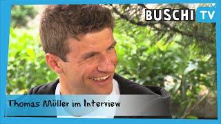 Thomas Müller im exklusiven Interview | BuschiTV