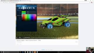 tora mystery decal the new bm in rocket league