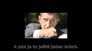 Andrej Babiš nadává - nahrávky