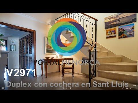 Casa con cochera y tres terrazas en Sant Lluís, Menorca