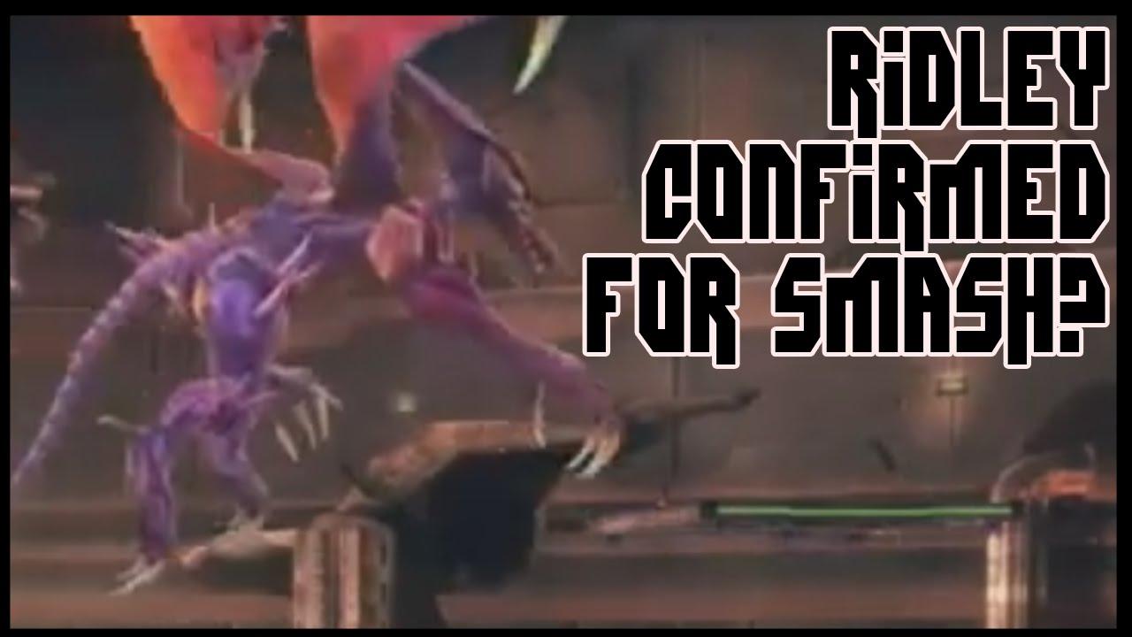 Super Smash Bros 4 RIDLEY CONFIRMED TOO BIG YouTube