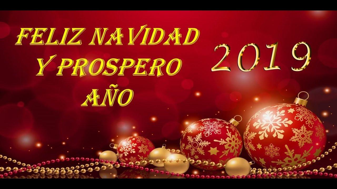 Imagenes Felicitacion Navidad 2019.Felicitacion De Navidad Y Prospero Ano 2019 Nueva Musica