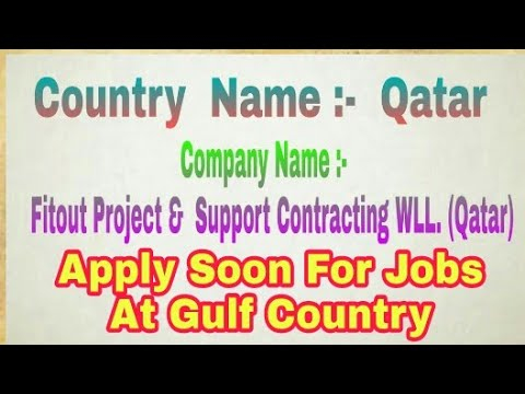 New Urgent 250 Vacancy at Qatar for Shutdown Project, From Best Consultancy,  At Azamgarh up
