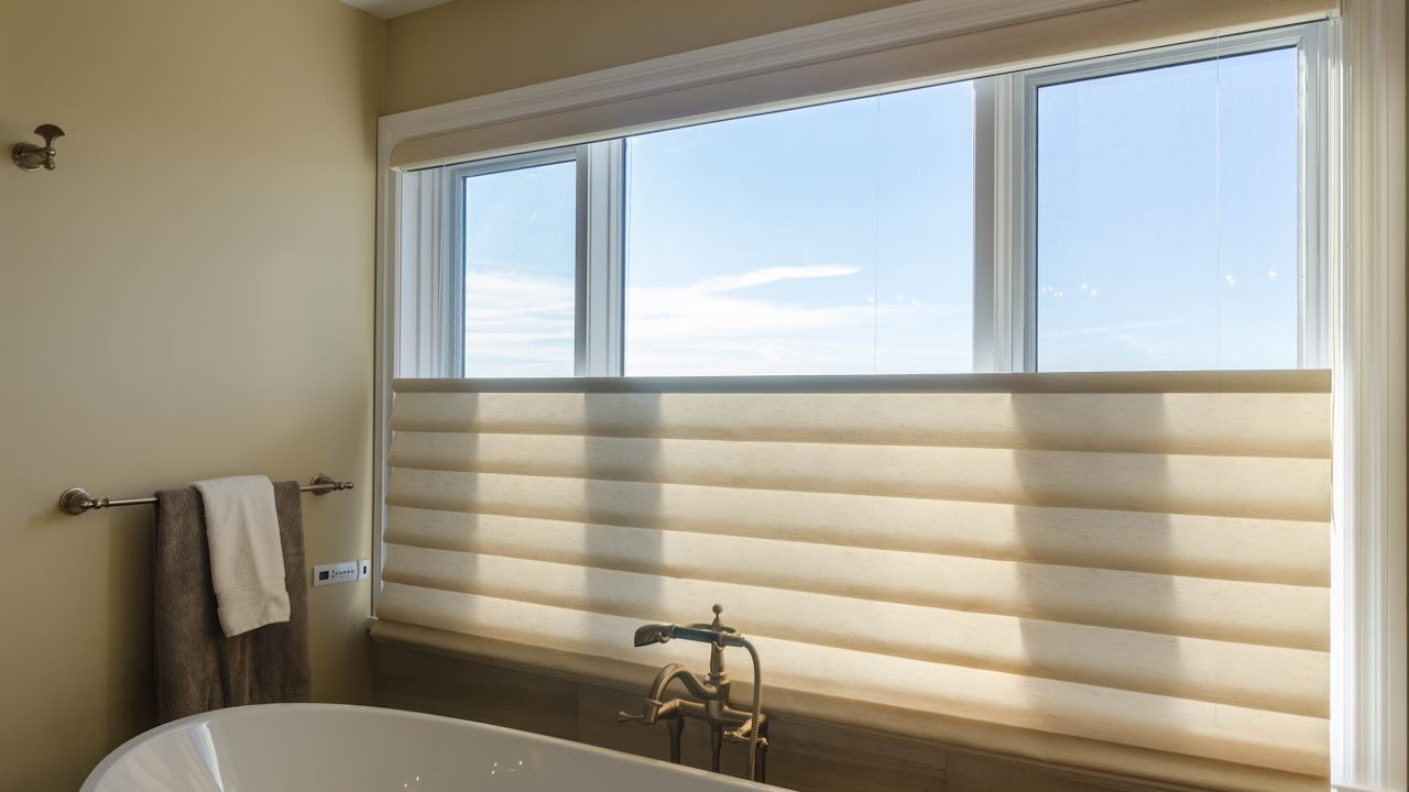 Bottom Up Blinds for Bathrooms Design Ideas YouTube