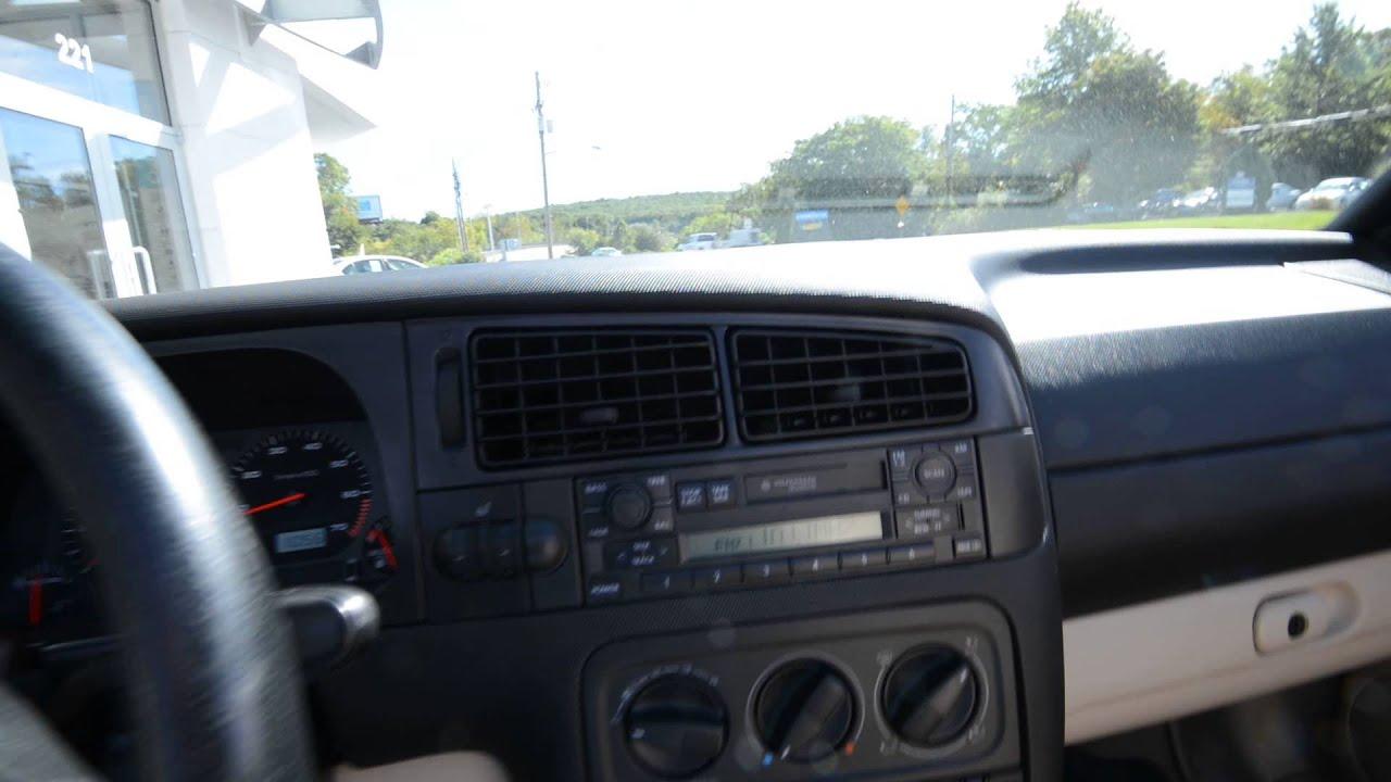 1999 volkswagen cabrio gls low miles stk 3483a for for Trend motors rockaway nj