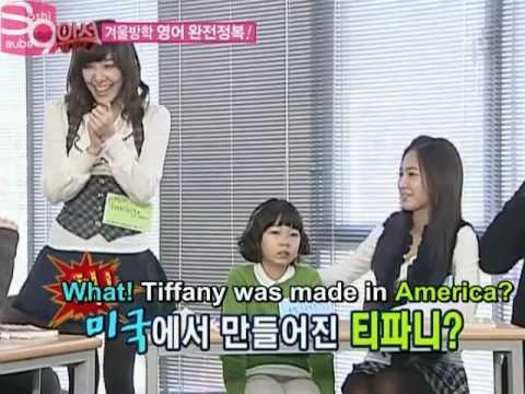 "SNSD ""Tiffany is made in USA"" - Yuri"