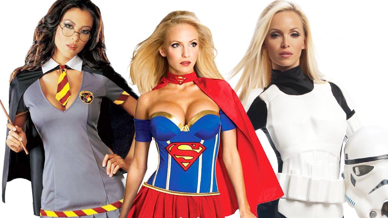 Top 5 Hottest Halloween Costumes - YouTube