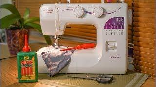 Уход за швейной машиной