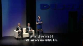 Trailer Hallonbåtsflyktingen Vadelmavenepakolainen med svensk text