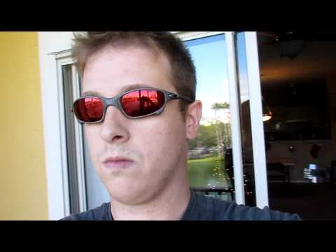d8fe6cbd6 Oakley Juliet X-metal Frame Ruby Quartz Cyclops lens - YouTube