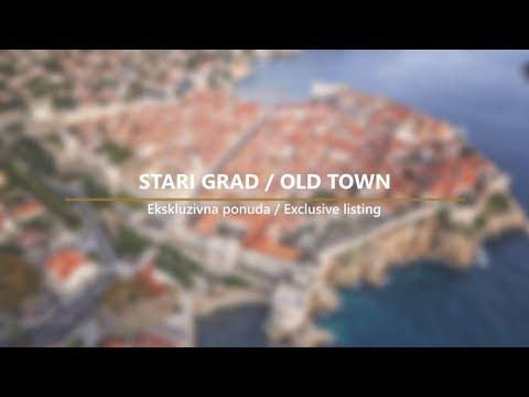 DUBROVNIK- STARI GRAD / OLD TOWN - Renovirana kamena kuća / Renovated stone house