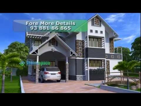 Beautiful Villa In Vaastu Constructed In 5 Cent With 35 Lakh Youtube