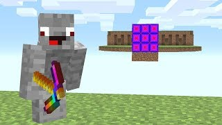 Die ganze Mitte besteht aus Shade Blöcken😮💯.. Minecraft LUCKY BLOCK BEDWARS
