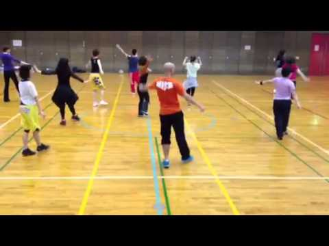 Cardio Ballet By Yoav Avidar at JAFA Fitness Forum in Japan