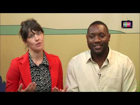 One Love Poetry Fest at BURT Web TV - Line Hassall Thomsen and Henzel Clarke interview