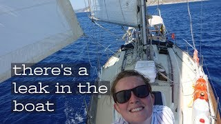 'TANGLED Anchor, LEAKY Stern Gland, DEAD Battery and a PLANE WRECK' | The Sailing Nomads - Ch.10