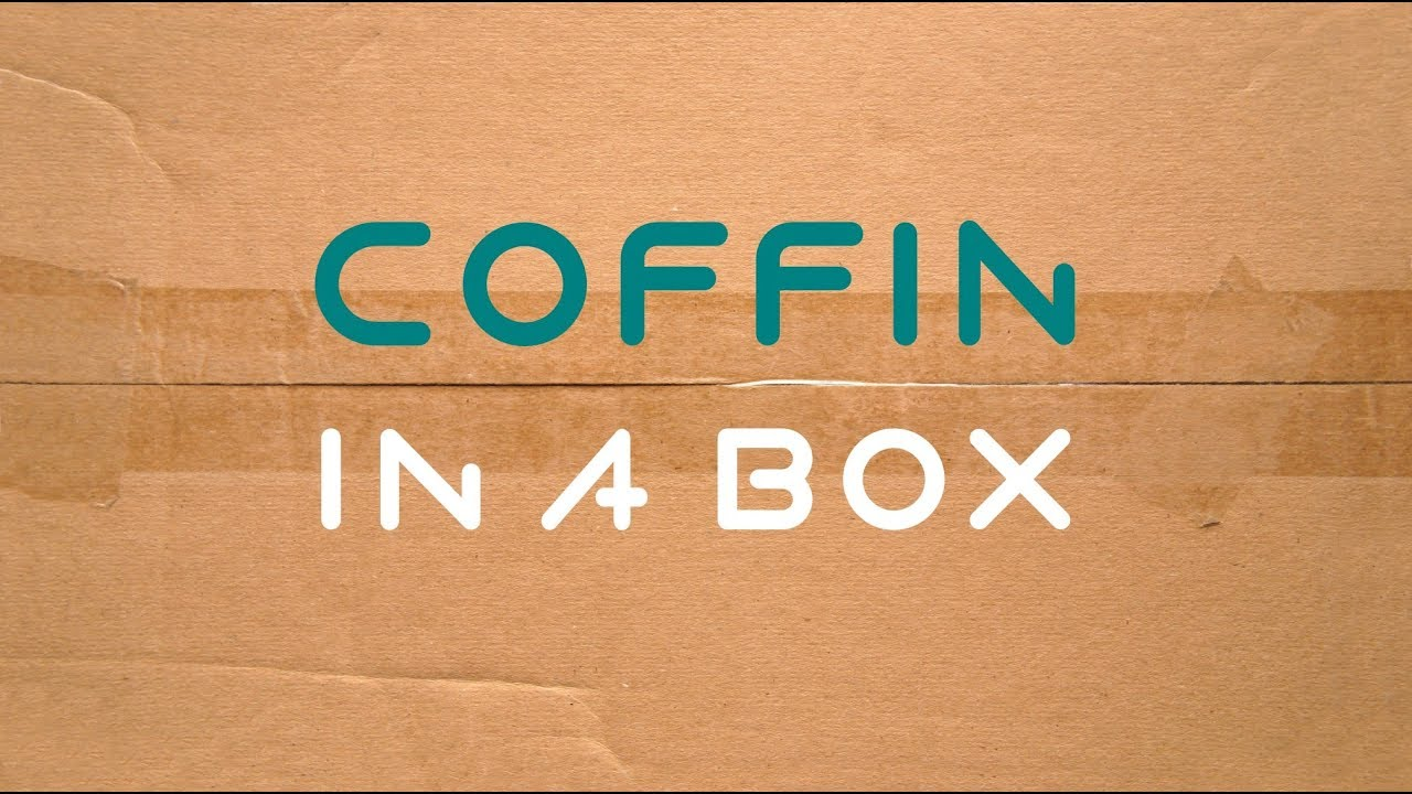 DIY coffin in a box