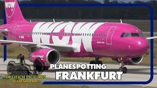 Planespotting Frankfurt Airport | August 2016 | Teil 1