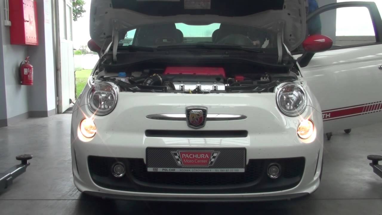 abarth fiat 500 - blow off - youtube
