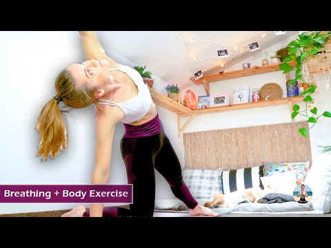 Complete Beginners Yoga Workout ➛ How To Strengthen Body & Exercise Breathing