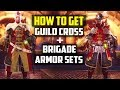 HOW TO GET THE HIDDEN ARMOR SETS! Guild Cross and Brigade Armor Set Monster Hunter World