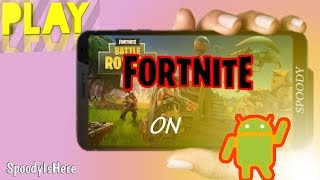 Play Fortnite On Android | 100% Working